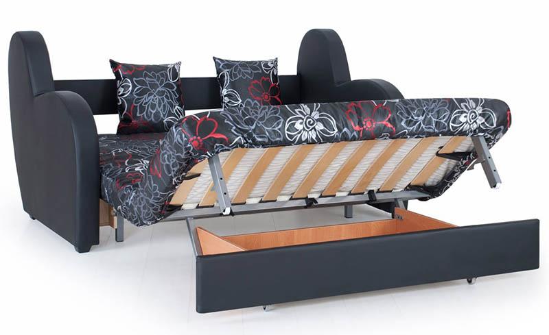 барон диван аккордеон на металлокаркасе от производителя в москве