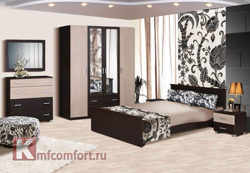 милена спальня от производителя в москве магазин мебели комфорт